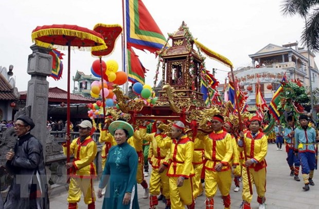 Ouverture de la Fete de Phu Day 2018 a Nam Dinh hinh anh 1
