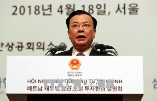 Le Vietnam apprecie des potentiels des investisseurs sud-coreens hinh anh 1