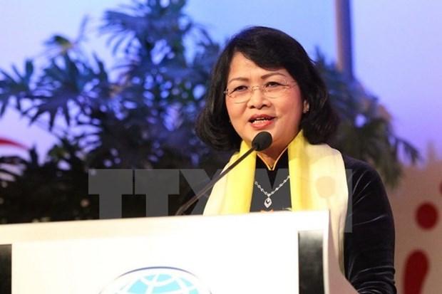 La vice-presidente du Vietnam sera presente au Sommet mondial des femmes 2018 hinh anh 1