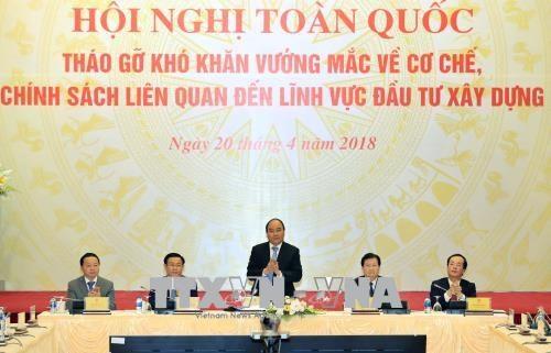 Le chef du gouvernement propose son aide au secteur de la construction hinh anh 1