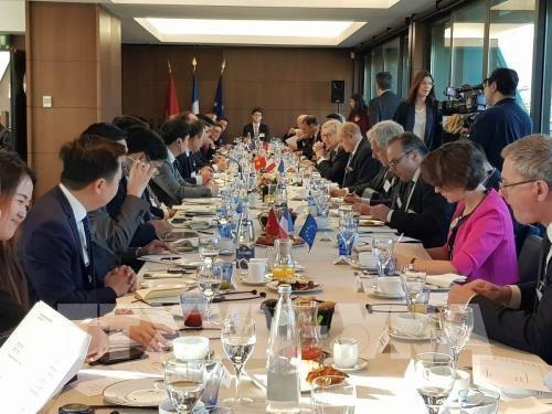 Le Vietnam et la France partagent leurs experiences sur l'edification de l'e-gouvernement hinh anh 1