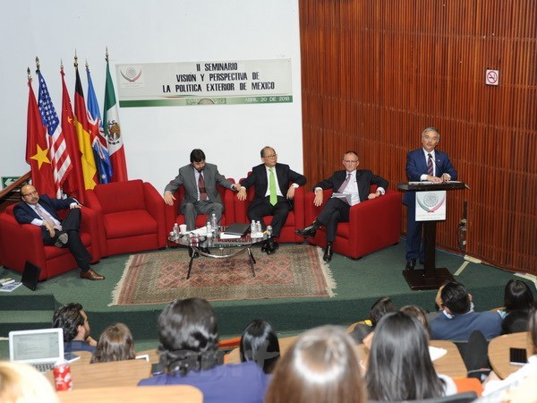 Presentation sur la Communaute de l'ASEAN au Mexique hinh anh 2