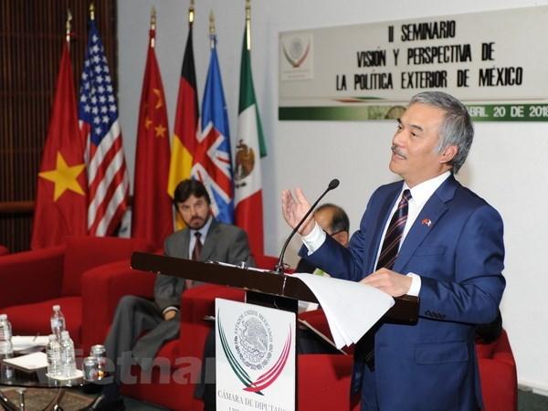 Presentation sur la Communaute de l'ASEAN au Mexique hinh anh 1