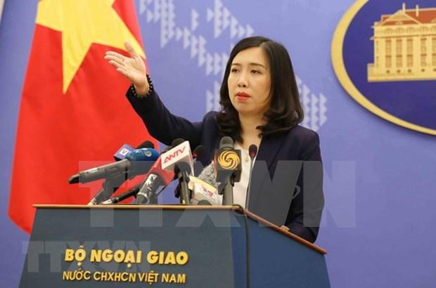 Le Vietnam condamne les activites illegales de la Chine a Hoang Sa et Truong Sa hinh anh 1