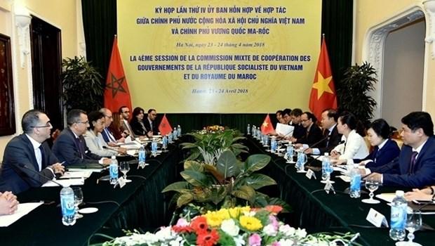La 4e reunion du Comite mixte Vietnam - Maroc a Hanoi hinh anh 1