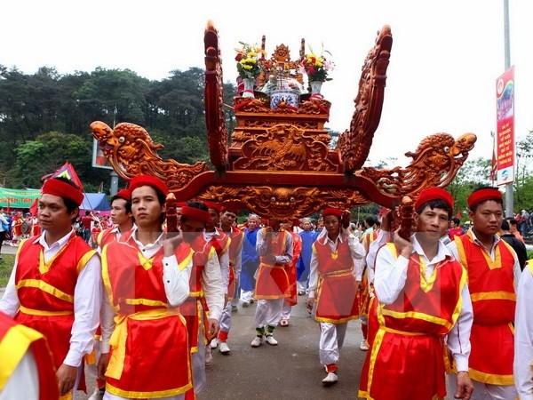Fete des rois Hung, symbole de l'union nationale hinh anh 1