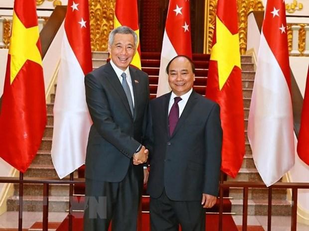 Nouvel elan pour le partenariat strategique Vietnam-Singapour hinh anh 1