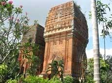 A l'ombre des tours cham a Binh Dinh, dans le Centre hinh anh 1
