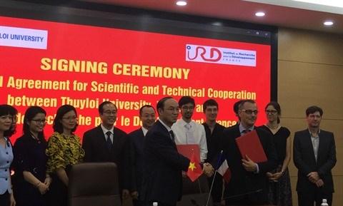 Vietnam-France : La TLU et l'IRD cimentent leur cooperation scientifique hinh anh 1