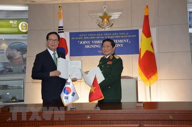 Vietnam et Republique de Coree boostent leur cooperation defensive hinh anh 2