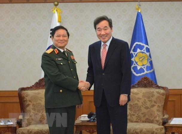 Vietnam et Republique de Coree boostent leur cooperation defensive hinh anh 1