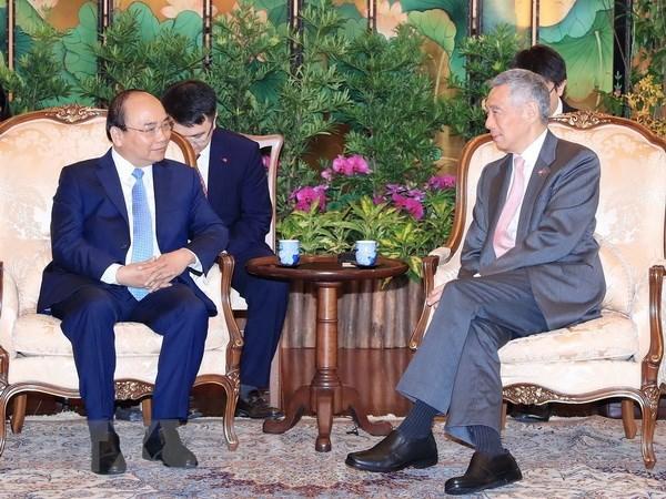 Le Vietnam et Singapour veulent renforcer leur partenariat strategique hinh anh 2