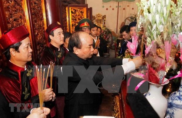 Ceremonie d'offrande d'encens aux rois Hung 2018 hinh anh 1