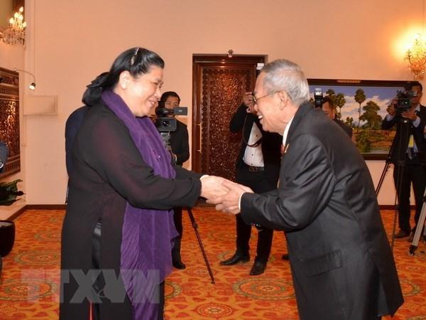 Le Vietnam cherit toujours les relations avec le Cambodge hinh anh 1