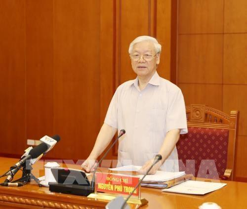 Reunion de la permanence du Comite central contre la corruption hinh anh 1
