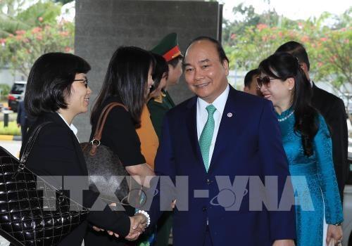 Le PM acheve avec succes son sejour a Singapour hinh anh 1