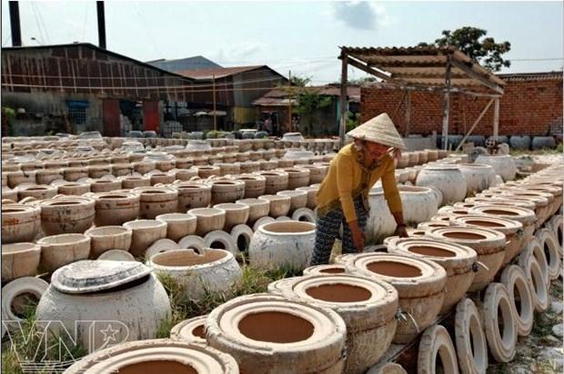 Au Sud, le village de ceramique de Tan Van garde sa flamme hinh anh 2