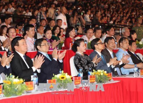 La presidente de l'AN en ouverture de l'Annee nationale du tourisme hinh anh 1