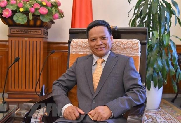 L'ambassadeur Nguyen Hong Thao elu vice-president de la Commission du droit international de l'ONU hinh anh 1