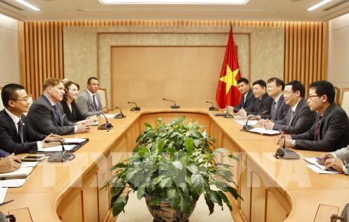 Le Vietnam promet de soutenir les entreprises americaines hinh anh 2