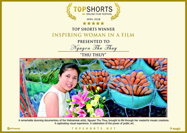 Le documentaire « Thu Thuy » remporte deux prix de TopShorts hinh anh 1