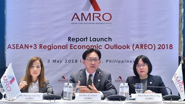 ASEAN+3 devrait enregistrer cette annee une croissance de 5,4% hinh anh 1