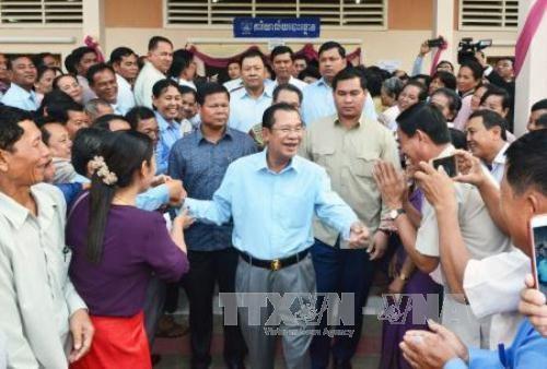Cambodge : campagne de communication sur les elections du 29 juillet hinh anh 1