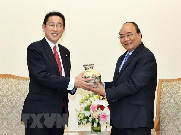 Une delegation du Parti liberal-democrate du Japon en visite au Vietnam hinh anh 1
