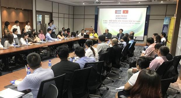Cuba appelle les entreprises vietnamiennes a investir dans le tourisme hinh anh 1
