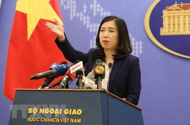 Le Vietnam demande a la Chine de maintenir la paix en Mer Orientale hinh anh 1