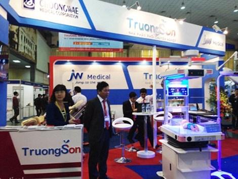 25e exposition internationale de medecine et pharmacie a Hanoi hinh anh 1