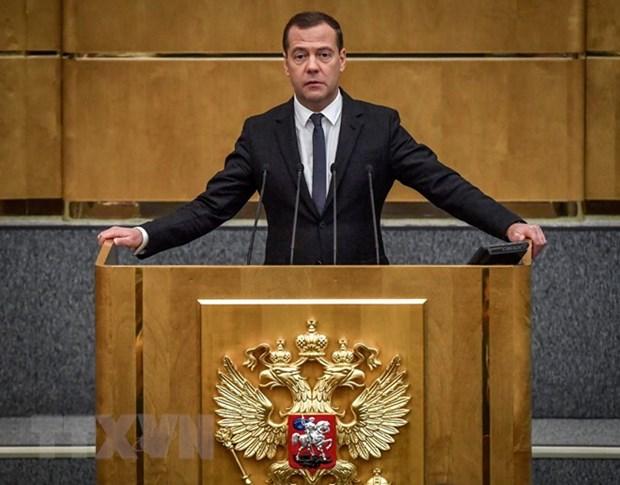Le Vietnam adresse ses felicitations au Premier ministre russe hinh anh 1