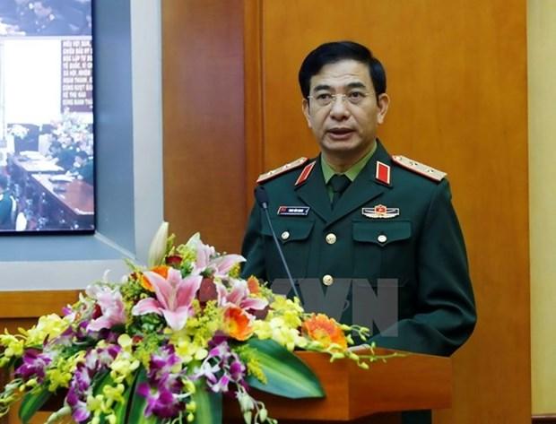 Le chef de l'Etat-major general de l'Armee recoit le commandant adjoint des Etats-Unis hinh anh 1