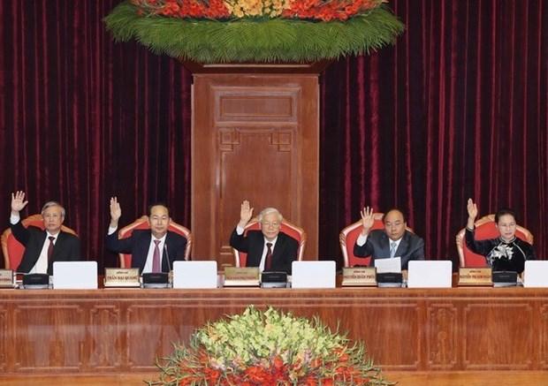 Le CC du PCV demande une mise en œuvre efficace des resolutions du 7e Plenum hinh anh 1