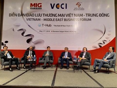 Le Vietnam et le Moyen-Orient promeuvent les liens d'affaires hinh anh 1