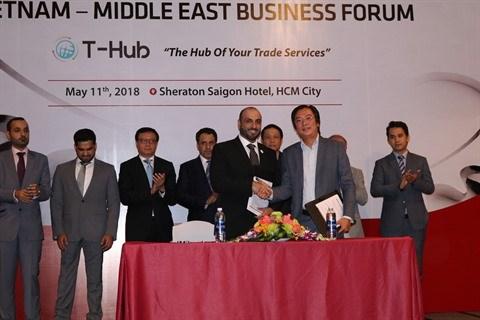 Le Vietnam et le Moyen-Orient promeuvent les liens d'affaires hinh anh 2