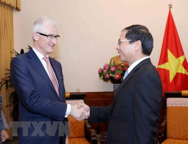 Le ministre-president flamand Geert Bourgeois accueilli a Hanoi hinh anh 1
