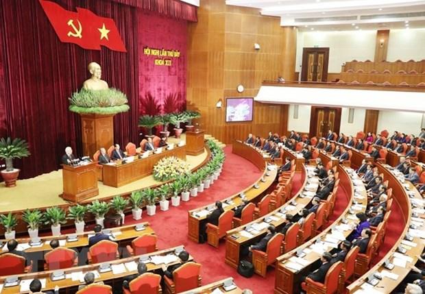 Le succes du 7e Plenum multiplie la confiance de la population dans le PCV hinh anh 1