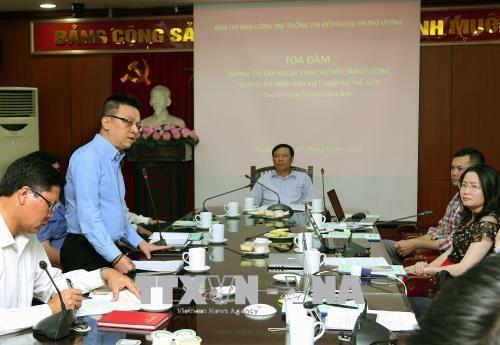 Des pistes pour elever le role du travail d'information pour l'etranger hinh anh 2