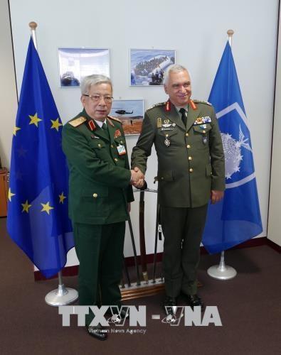 Le Vietnam veut renforcer ses liens de defense avec l'Union europeenne hinh anh 1