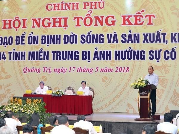 Le chef du gouvernement souligne la lecon tiree de l'affaire Formosa hinh anh 1