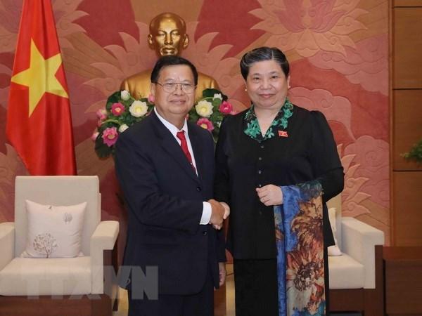 Renforcement de la cooperation parlementaire Vietnam-Laos hinh anh 1