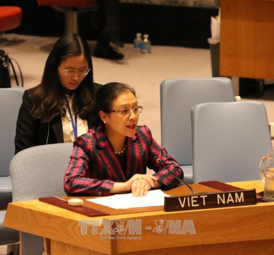 Le Vietnam souligne la responsabilite de regler pacifiquement les differends hinh anh 1