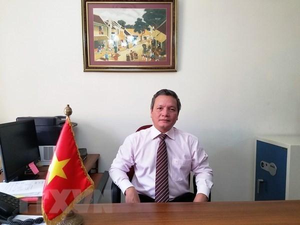 L'anniversaire du president Ho Chi Minh celebre a l'Algerie hinh anh 1