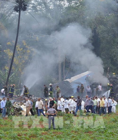 Message de sympathie a Cuba suite a l'accident d'avion hinh anh 1
