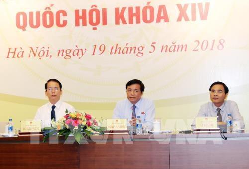 Communique sur l'ouverture de la 5e session de l'Assemblee nationale hinh anh 1