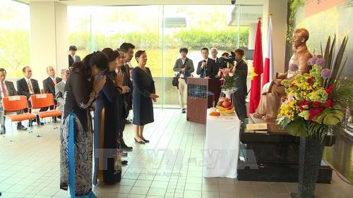 Le 128e anniversaire du President Ho Chi Minh fete a l'etranger hinh anh 1