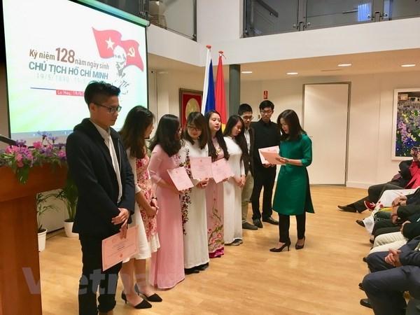 Des activites aux Pays-Bas et au Canada marquent l'anniversaire du president Ho Chi Minh hinh anh 1