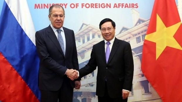 Message de felicitations au ministre des Affaires etrangeres russe hinh anh 1