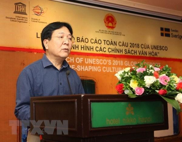 Rapport mondial 2018 de l'UNESCO: Re-penser les politiques culturelles hinh anh 1